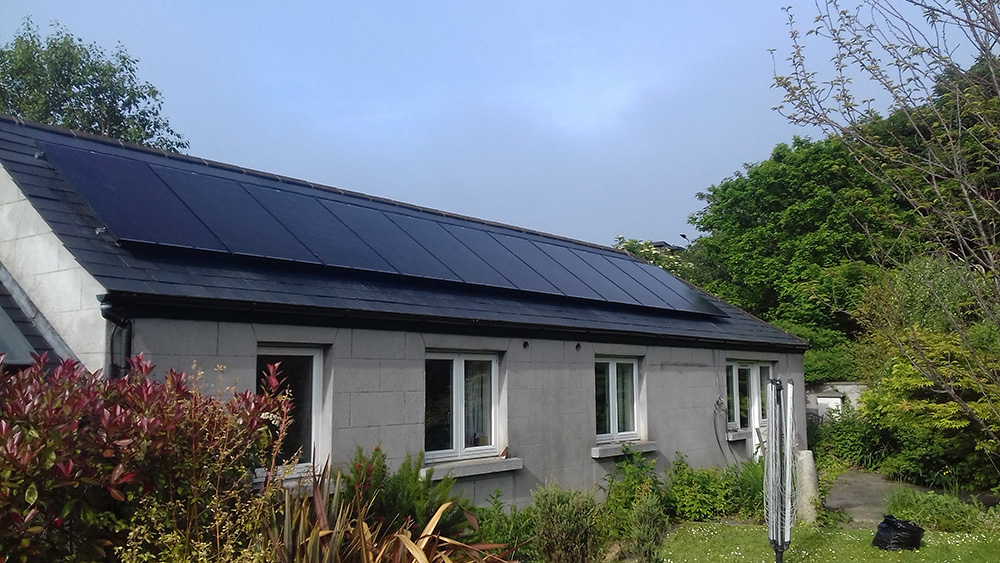 Pitched Roof Installations Wyse Solar